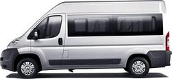 Peugeot Boxes 9 személyes kisbusz bérlés, kisbusz kölcsönzés