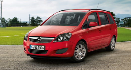 Kisbusz bérlés Opel Zafira 7 személyes