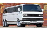VW Transporter extra-long kisbusz